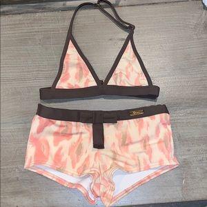 Girls Christian Dior Swimsuit